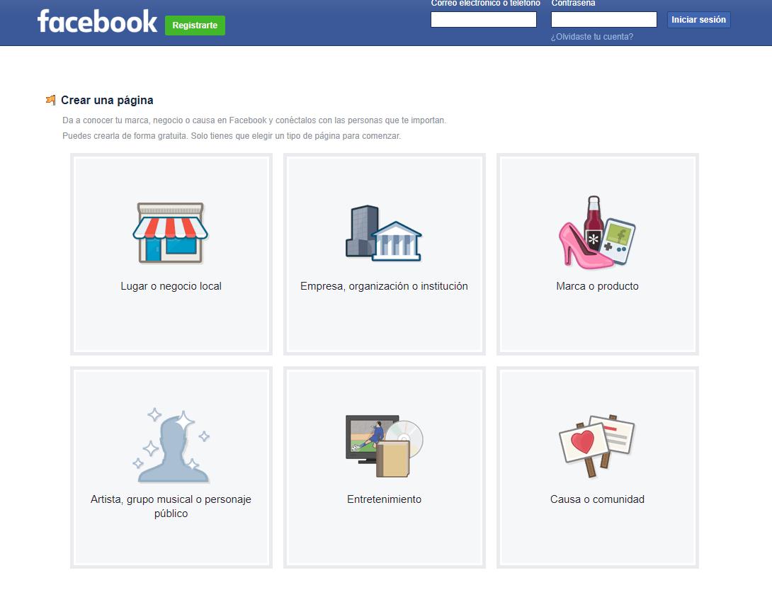 Onlinízate en Facebook